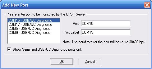 Выбираем здесь номер порта, тот что узнали в диспетчере устройств