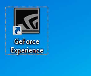 Значок программы Geforce Experience